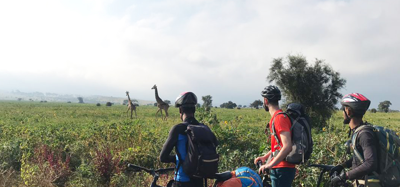 arusha national park cycling